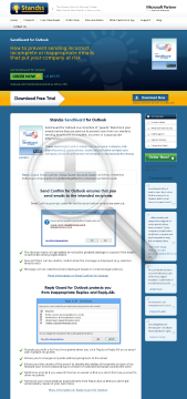 SendGuard for Outlook Version Delay Guard Only preview. Click for more details