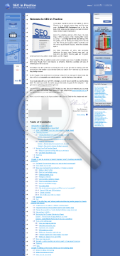 SEO in Practice PDF preview. Click for more details
