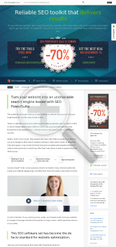 SEO PowerSuite Professional License preview. Click for more details