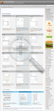 Services invoice with deposit deduction Full Version preview. Click for more details