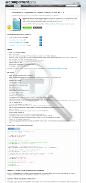 SFTP Component for Mobile Standard Version for Company No Source Code Lifetime Subscription preview. Click for more details