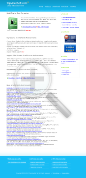 Solid FLV to iPod Converter Full Version preview. Click for more details