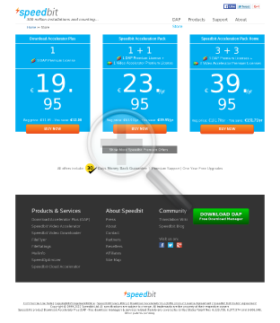 Speedbit Acceleration Pack LICENSES COMPUTERS reg price 239 79 preview. Click for more details