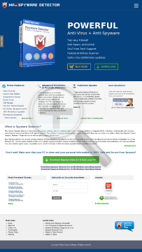 Spyware Detector Full Version2 yr license preview. Click for more details