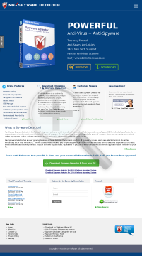 Spyware Detector New Renewal preview. Click for more details