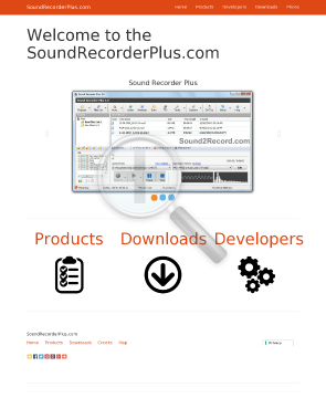 SRP Sound Recorder Plus preview. Click for more details