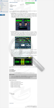 Active Sound Suite Commercial edition in bundle with Audio Sound Suite for NET preview. Click for more details