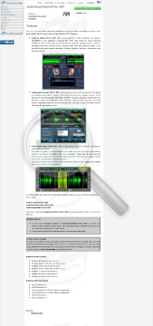 Audio Sound Suite API for NET Commercial edition preview. Click for more details