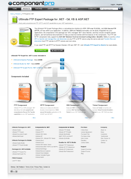 FTP Expert Package for NET Standard Version for Company No Source Code Year Subscription preview. Click for more details