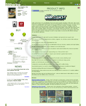 Gary Grigsbys War in the East PC Physical with Free Download preview. Click for more details