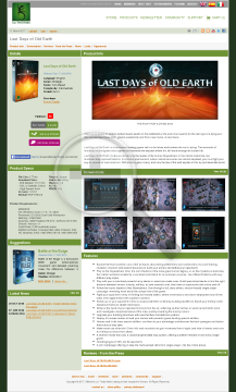 Last Days of Old Earth PC Physical with Free Download preview. Click for more details