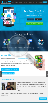 TiSPY Two years iphone subscription preview. Click for more details